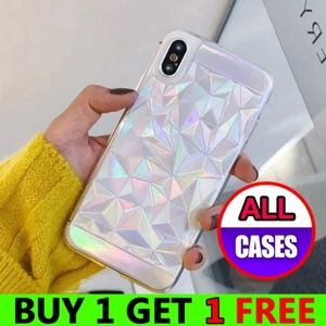 Accessories - *NEW iPhone X/XS/7/8/Plus Rainbow Geometric Case